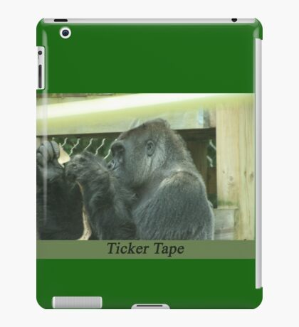 Ticker Tape iPad Case/Skin