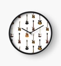 Guitar Pattern Clock