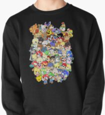 Super Smash Bros. All 58 Characters! Group Pullover