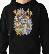 Super Smash Bros. All 58 Characters! Group Pullover Hoodie