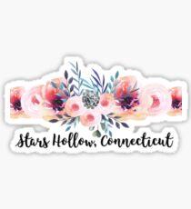 stars hollow gilmore girls Sticker
