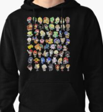 Super Smash Bros. All 58 Characters!  Pullover Hoodie