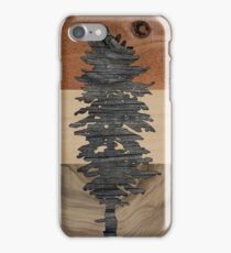 The Doug Flag in Wood iPhone Case/Skin