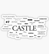 Castle world Sticker