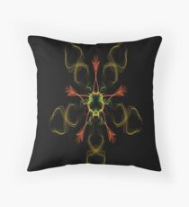 Silken 7 Throw Pillow