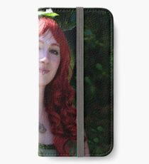 Vinylone and the red curled haired beauty made by Blunder iPhone Wallet/Case/Skin