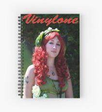 Vinylone and the red curled haired beauty made by Blunder Spiral Notebook