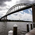 The Chesapeake and Delaware Canal Bridge by Polly Peacock