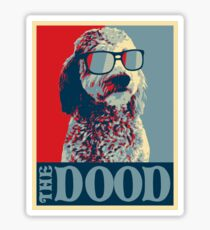 The Dood Goldendoodle Sticker
