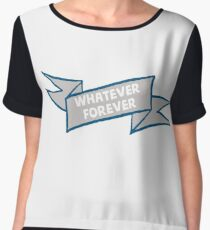 Whatever forever Women's Chiffon Top