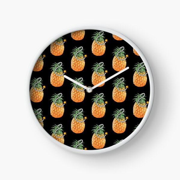 Pineapple Bomb Clock