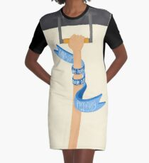 Piccadilly Line (LondonTube) Graphic T-Shirt Dress