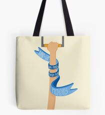 Piccadilly Line (LondonTube) Tote Bag