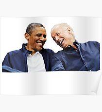 bff obama joe Poster