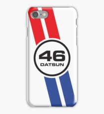 Vintage Datsun Racing Livery iPhone Case/Skin