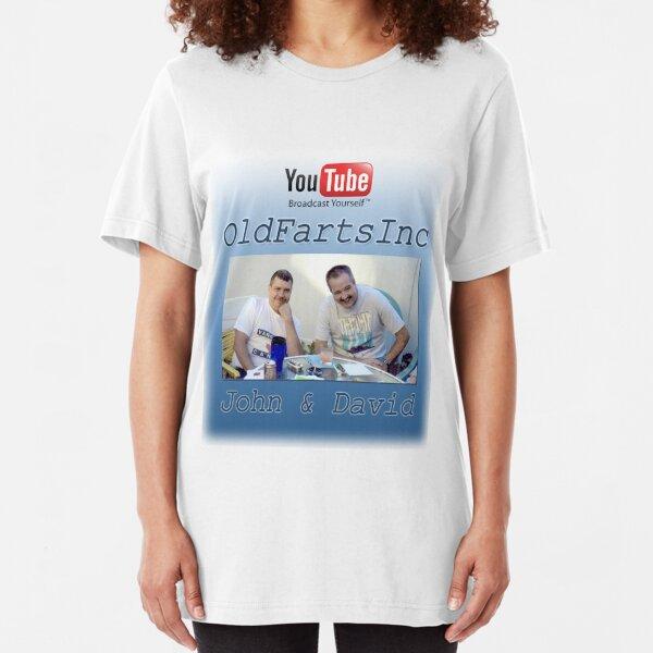 Old Farts, Inc. Slim Fit T-Shirt
