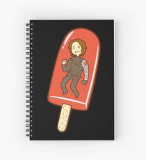 Strawberry Ice Pop Spiral Notebook