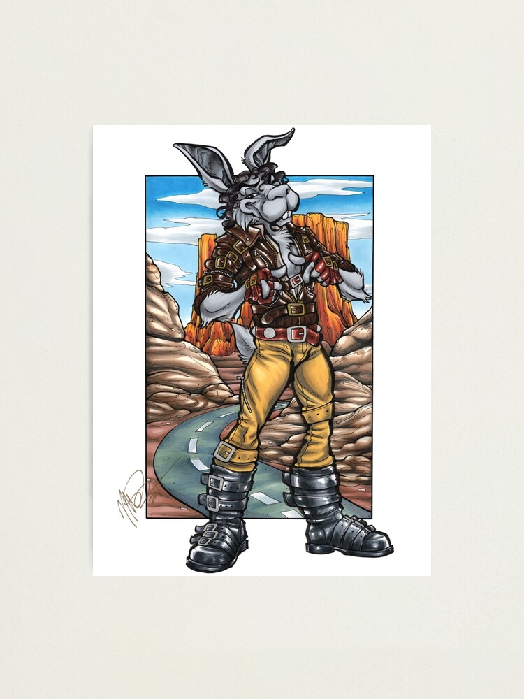 Alternate view of Spike Bunny Photographic Print