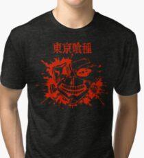Camiseta de tejido mixto Kaneki Splatter