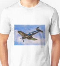 Chance Vought F4U-4 Corsair 96995 OE-EAS Unisex T-Shirt