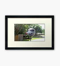 PermaDeathy car topper Amazingness! Framed Print