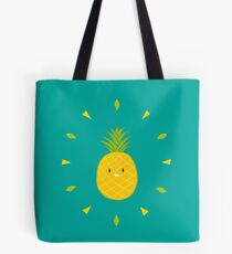 Shiny Pineapple Tote Bag