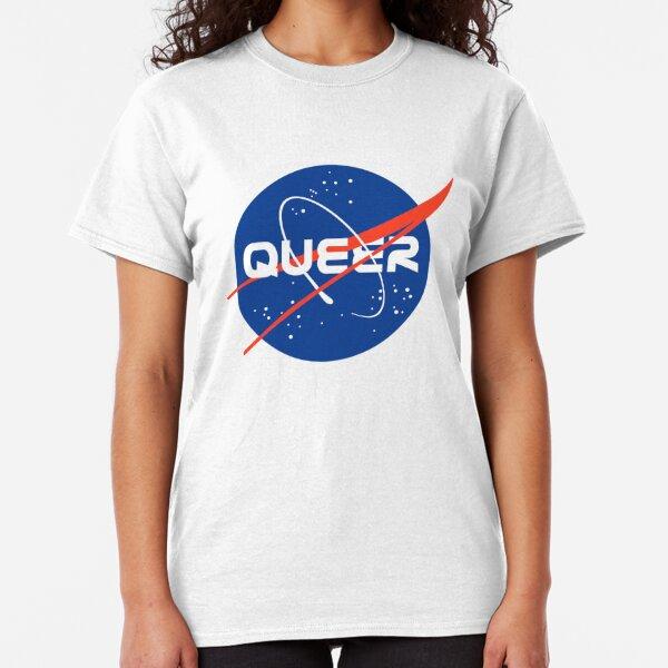 Queer - Nasa inspired logo Classic T-Shirt