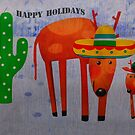 HAPPY HOLIDAYS by Barbara Manis