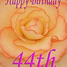Happy 44th Birthday Flower by martinspixs