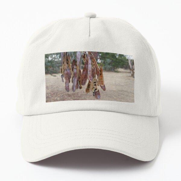 Seed pod sunshine wattle Dad Hat