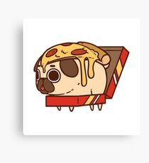Puglie Pizza Canvas Print