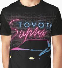 Neon Supra Graphic T-Shirt