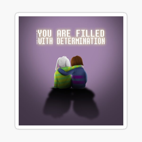 Determination Sticker