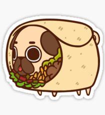 Puglie Burrito Sticker