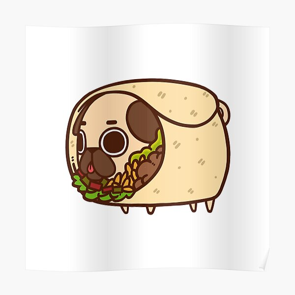Puglie Burrito Poster