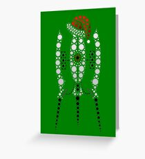 Festive Mode Activated Greeting Card