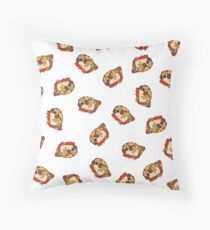 Puglie Pizza Throw Pillow