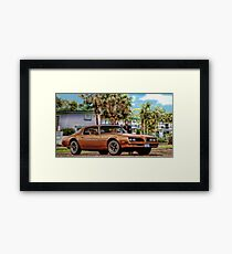 Jim Rockford - The Rockford Files Framed Print