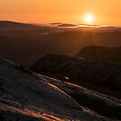 Sunrise from the slopes of An Teallach by Ian Maclellan
