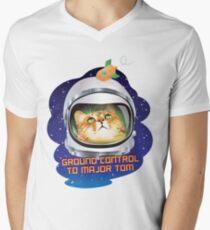 Ground Control to Major Tom Men's V-Neck T-Shirt