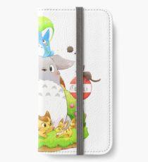 Totoro Family iPhone Wallet/Case/Skin