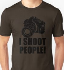 I Shoot People T-Shirt Funny Photographer TEE Camera Photography Digital Photo T-Shirt