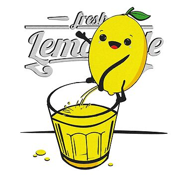 Lemon pees fresh lemonade by imfine