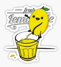 Lemon pees fresh lemonade Sticker