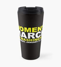 Women's March on Washington Travel Mug