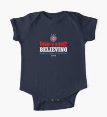 Chicago Cubs Believing One Piece - Short Sleeve