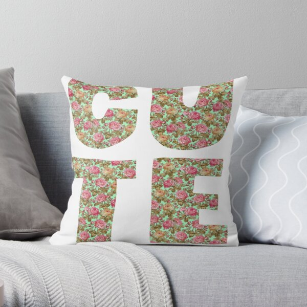 Cute - sincere version Throw Pillow