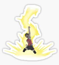 Nishanoya Haikyuu!! - Rolling Thunder Sticker