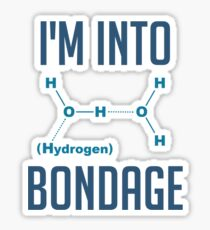 I'm into Hydrogen Sticker