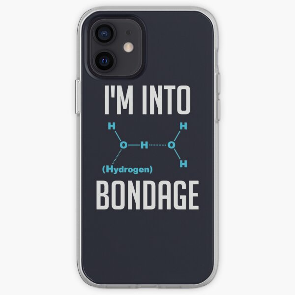 I'm into Hydrogen iPhone Soft Case
